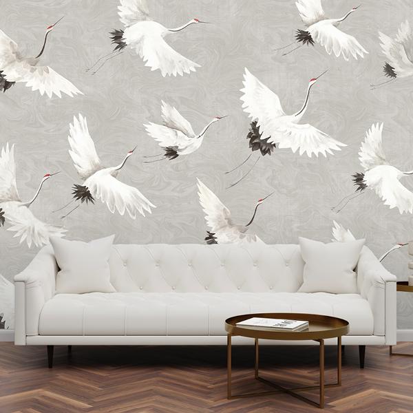 Scott Living Wallpaper Collection Grey Geometric
