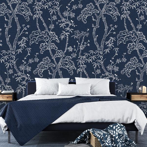 Scott Living Wallpaper Collection Black Sorrel