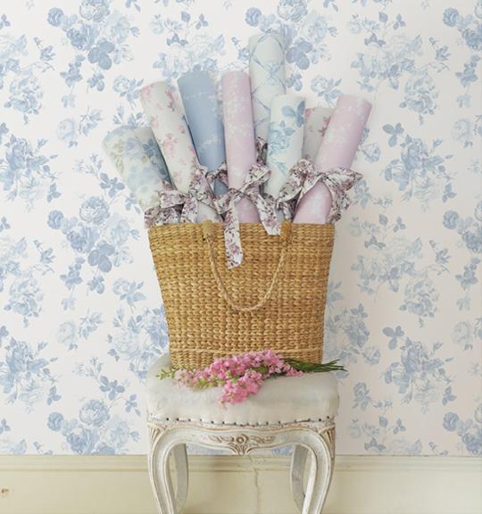 Love Shack Fancy Basket of Wallpaper